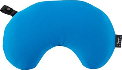 Bucky Minnie Compact Neck Pillow with Snap & Go French Blue - Bucky Travel Comfort and Health