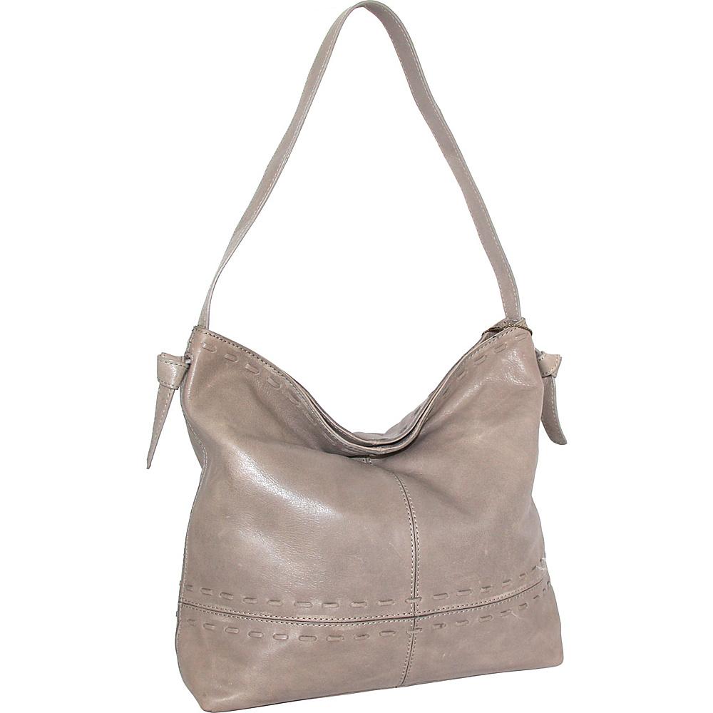 Nino Bossi Hollie Hobo Stone - Nino Bossi Leather Handbags - Handbags, Leather Handbags