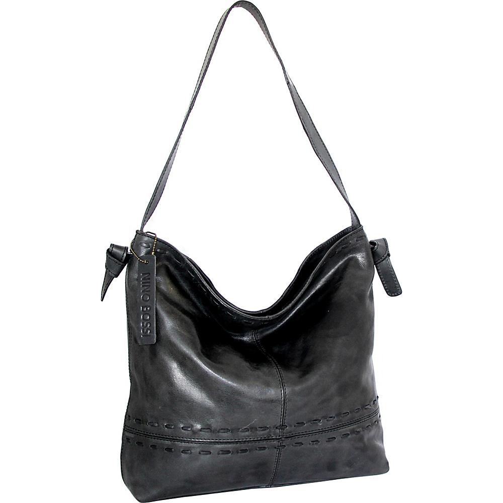 Nino Bossi Hollie Hobo Black - Nino Bossi Leather Handbags - Handbags, Leather Handbags