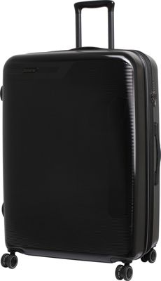 it luggage Autograph Hardside 8 Wheel 29.8 inch Spinner Luggage Black with Grey - it luggage Hardside Checked