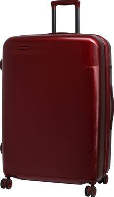 it luggage Autograph Hardside 8 Wheel 29.8 inch Spinner Luggage Red - it luggage Hardside Checked