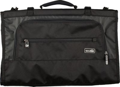 Genius Pack Tri-Fold 22 inch Carry-On Garment Bag BLACK - Genius Pack Garment Bags