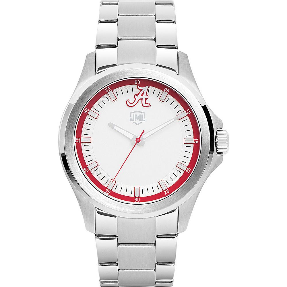 Jack Mason League Mens NCAA Silver Sport Watch Alabama - Jack Mason League Watches - Fashion Accessories, Watches