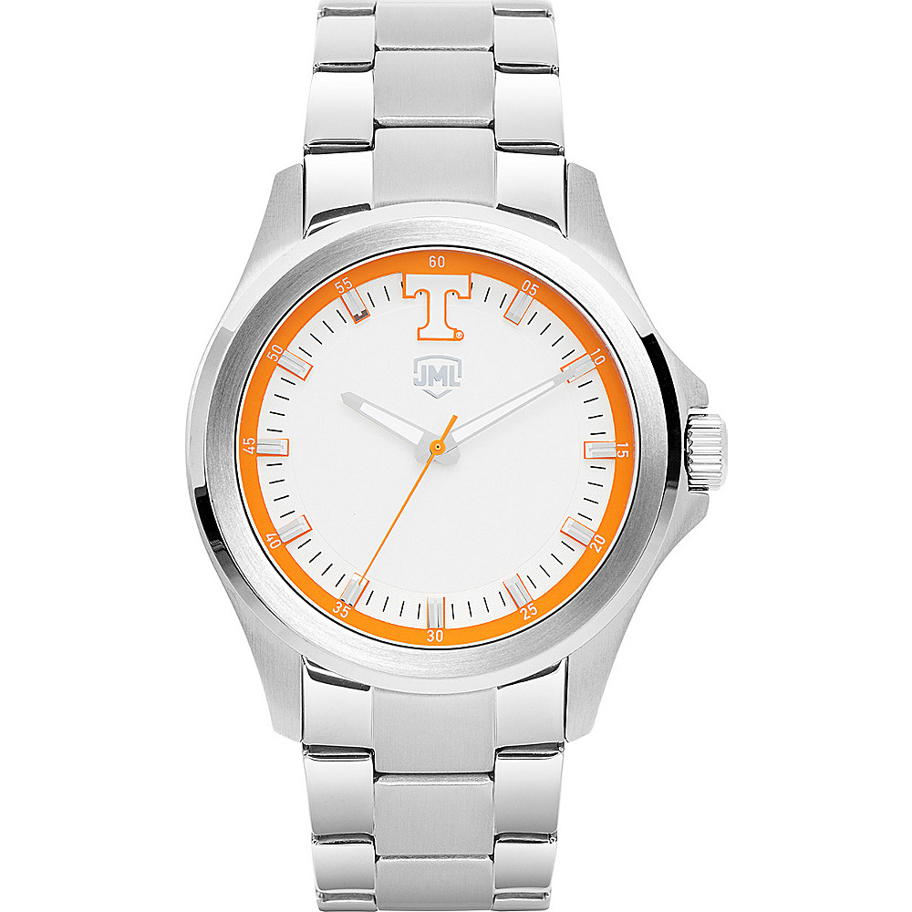 Jack Mason League Mens NCAA Silver Sport Watch Tennessee - Jack Mason League Watches - Fashion Accessories, Watches