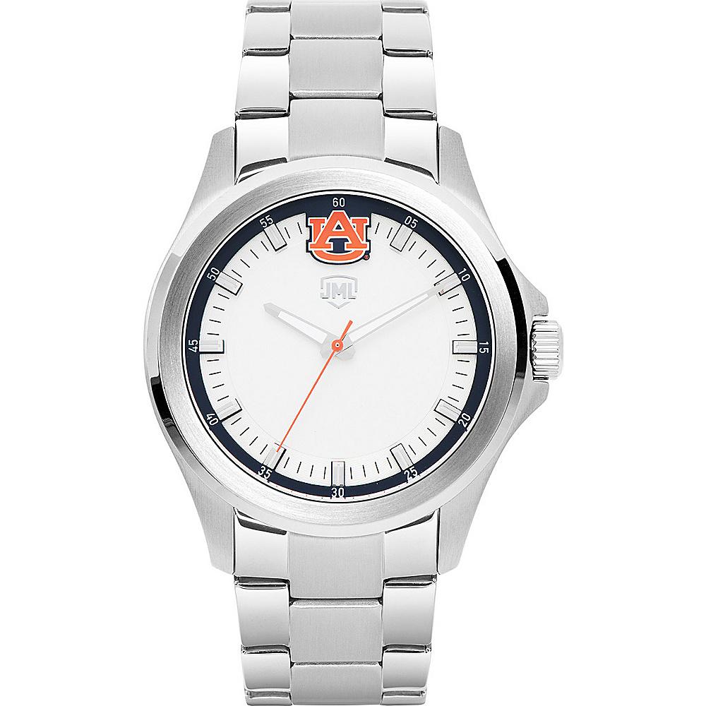 Jack Mason League Mens NCAA Silver Sport Watch Auburn - Jack Mason League Watches - Fashion Accessories, Watches