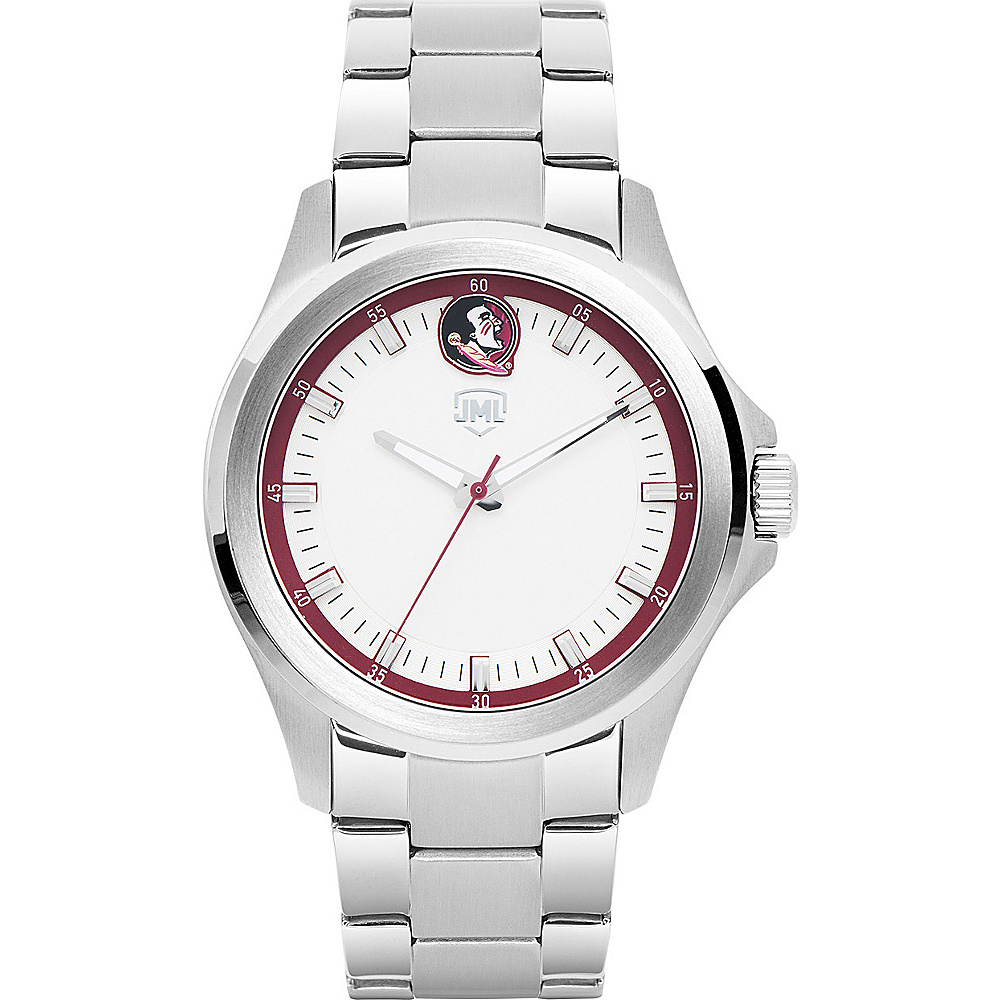 Jack Mason League Mens NCAA Silver Sport Watch Florida State - Jack Mason League Watches - Fashion Accessories, Watches