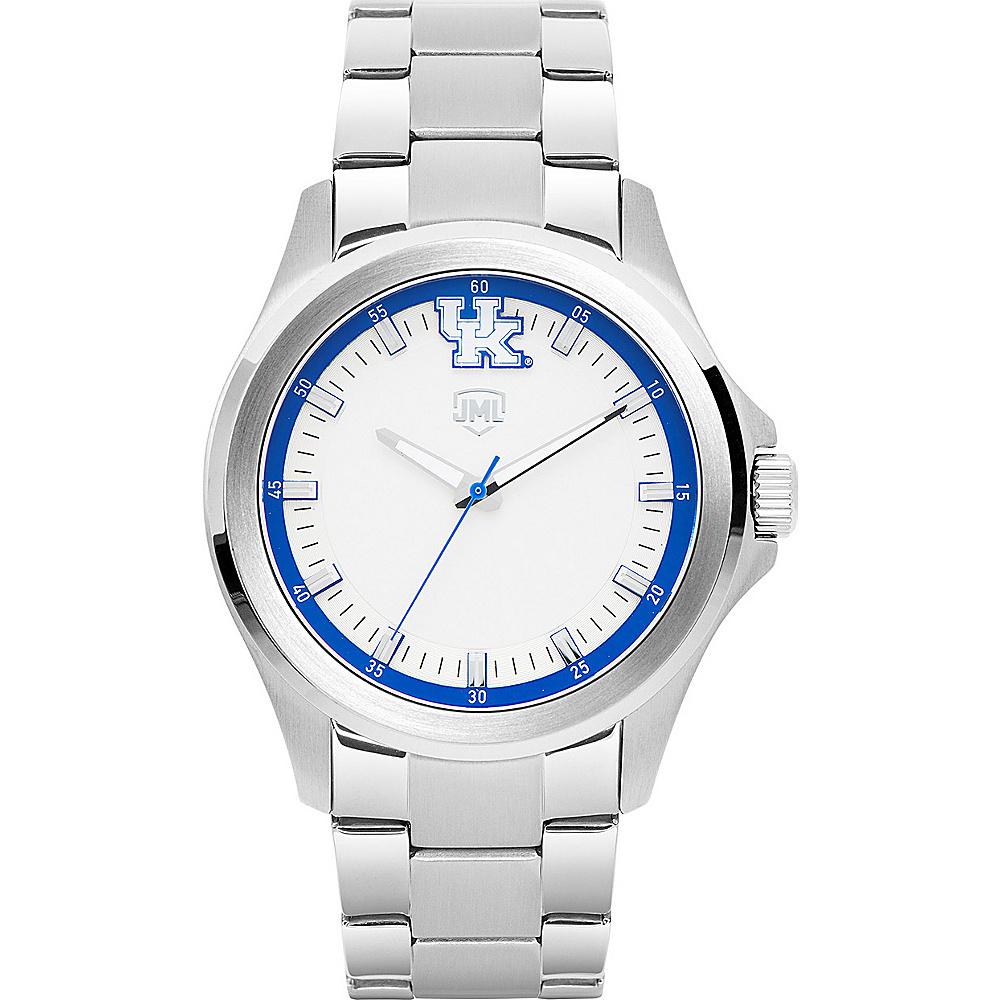 Jack Mason League Mens NCAA Silver Sport Watch Kentucky - Jack Mason League Watches - Fashion Accessories, Watches