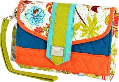 Inky & Bozko Beachy Keen Wristlet Beachy Keen - Inky & Bozko Leather Handbags