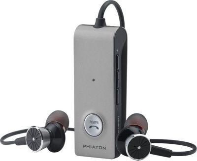 Phiaton Bluetooth 220 Wireless & Active Noise Cancelling Earphones Silver & Black - Phiaton Headphones & Speakers