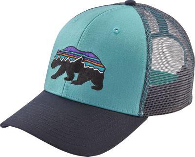 Patagonia Fitz Roy Bear Trucker Hat One Size - Crevasse B...
