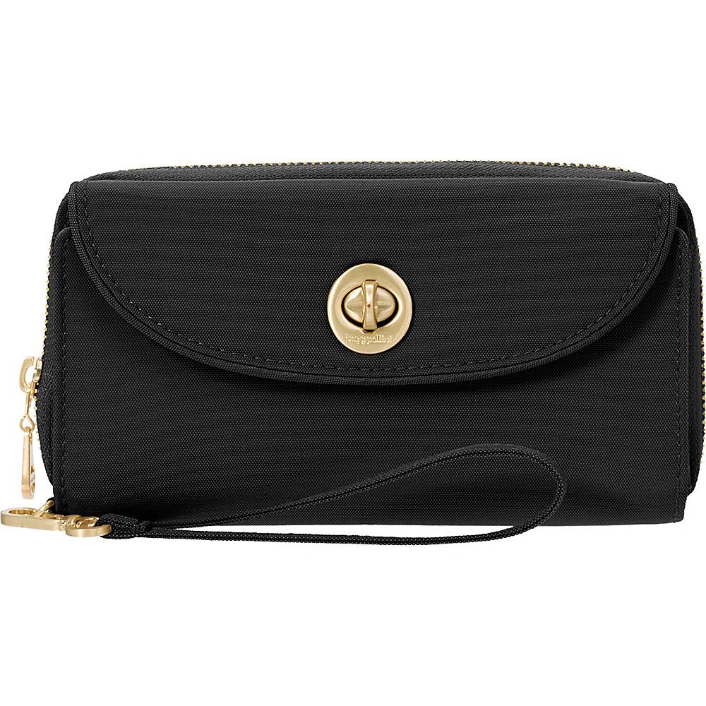 baggallini RFID Luxor Wallet Wristlet Black - baggallini Womens Wallets - Women's SLG, Women's Wallets