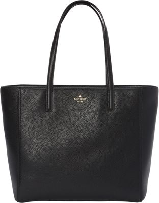 kate spade new york Hines Street Hallie Tote Black - kate spade new york Designer Handbags