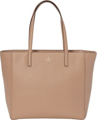 kate spade new york Hines Street Hallie Tote Brown Sugar - kate spade new york Designer Handbags