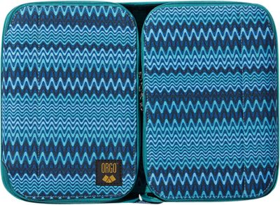 ORGO Expandable Counter and Toiletry Kit - Prints Moody Blues - ORGO Toiletry Kits