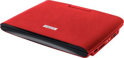 Digital Treasures Cinematix 9 inch Portable DVD Player with 6+ Hour Battery Life Red - Digital Treasures Portable Entertainment