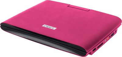 Digital Treasures Cinematix 9 inch Portable DVD Player with 6+ Hour Battery Life Pink - Digital Treasures Portable Entertainment