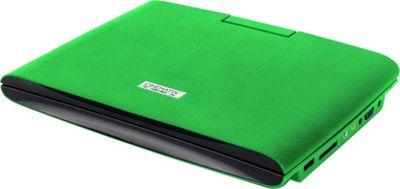 Digital Treasures Cinematix 9 inch Portable DVD Player with 6+ Hour Battery Life Green - Digital Treasures Portable Entertainment