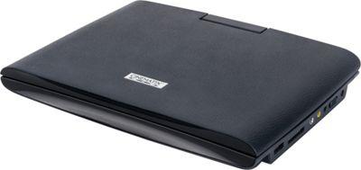 Digital Treasures Cinematix 9 inch Portable DVD Player with 6+ Hour Battery Life Black - Digital Treasures Portable Entertainment