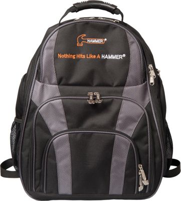 Hammer Deuce Two Ball Bowling Backpack Carbon - Hammer Bowling Bags