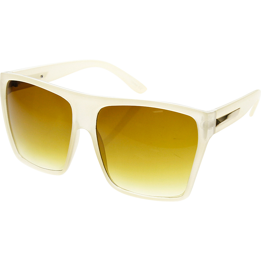SW Global Bobby Square Fashion Sunglasses Beige - SW Global Eyewear - Fashion Accessories, Eyewear