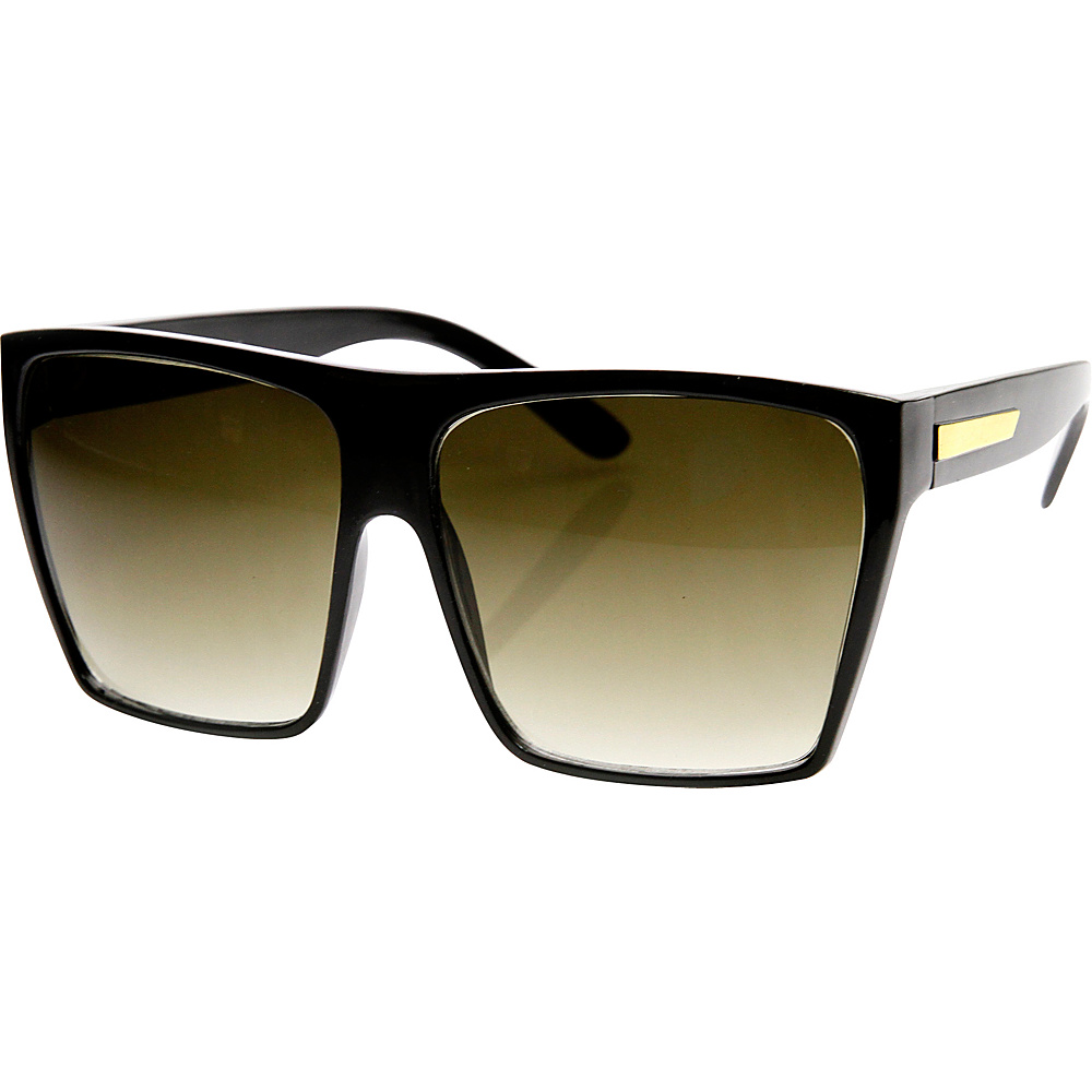 SW Global Bobby Square Fashion Sunglasses Black-Gold - SW Global Eyewear - Fashion Accessories, Eyewear