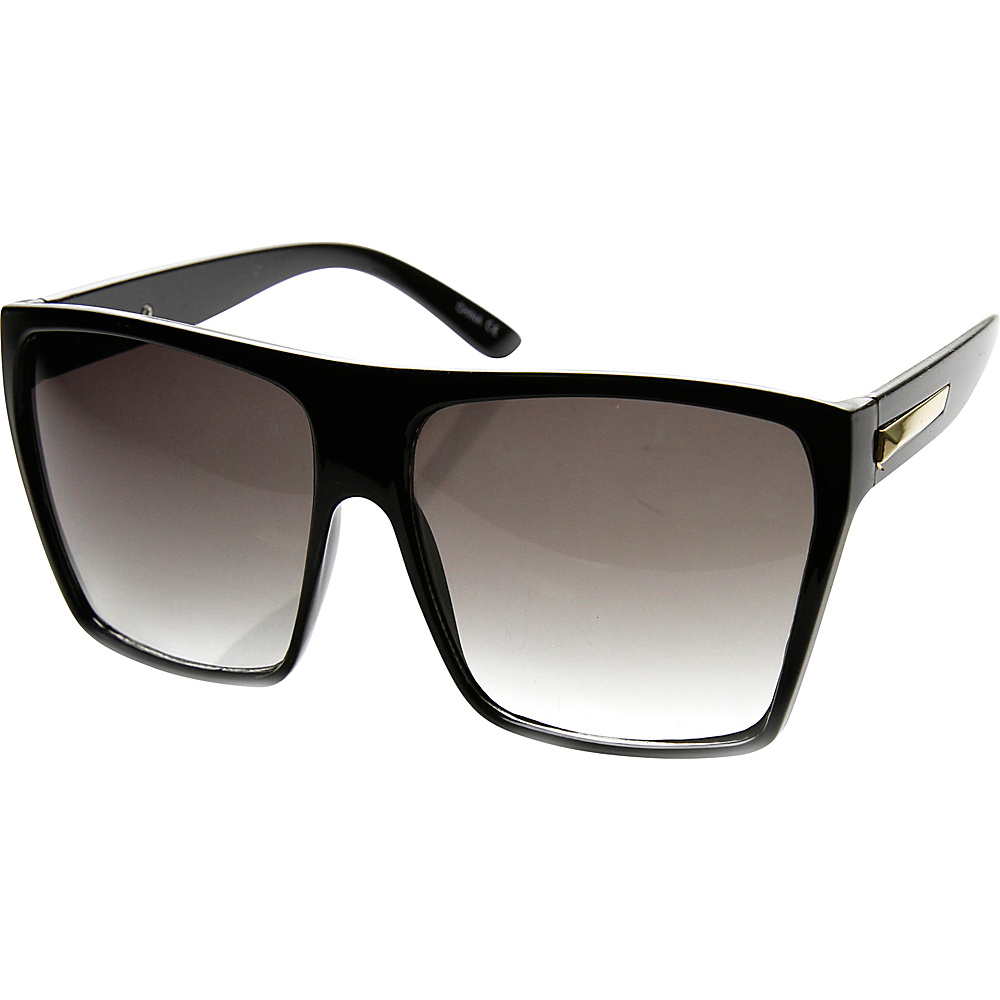 SW Global Bobby Square Fashion Sunglasses Black-Silver - SW Global Eyewear - Fashion Accessories, Eyewear