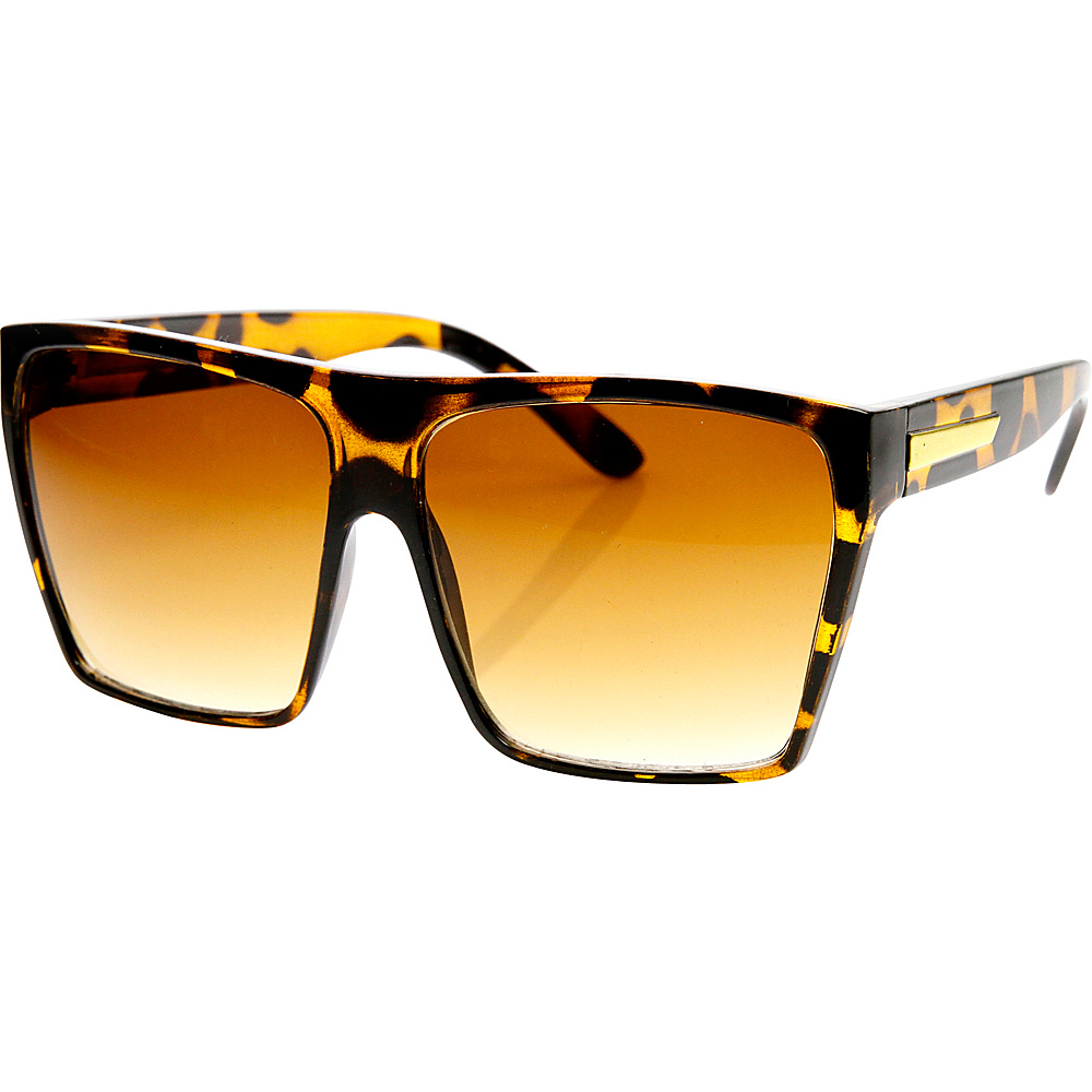 SW Global Bobby Square Fashion Sunglasses Leopard - SW Global Eyewear - Fashion Accessories, Eyewear