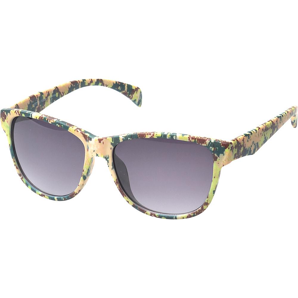 SW Global Falon Square Fashion Sunglasses Camo - SW Global Eyewear - Fashion Accessories, Eyewear