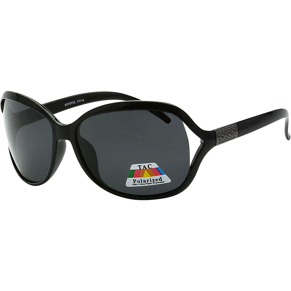 SW Global Womens Polarized Simplified Butterfly Sunglasses Black - SW Global Eyewear - Fashion Accessories, Eyewear