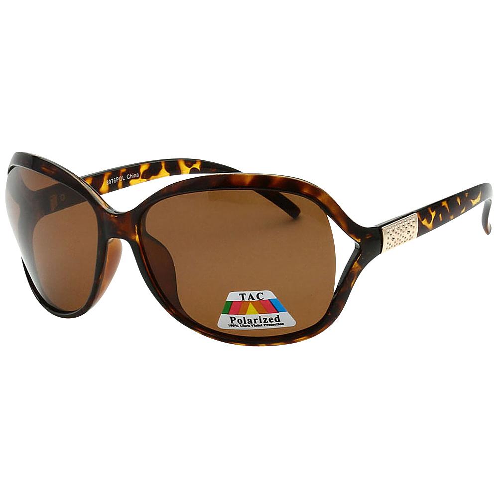 SW Global Womens Polarized Simplified Butterfly Sunglasses Brown - SW Global Eyewear - Fashion Accessories, Eyewear