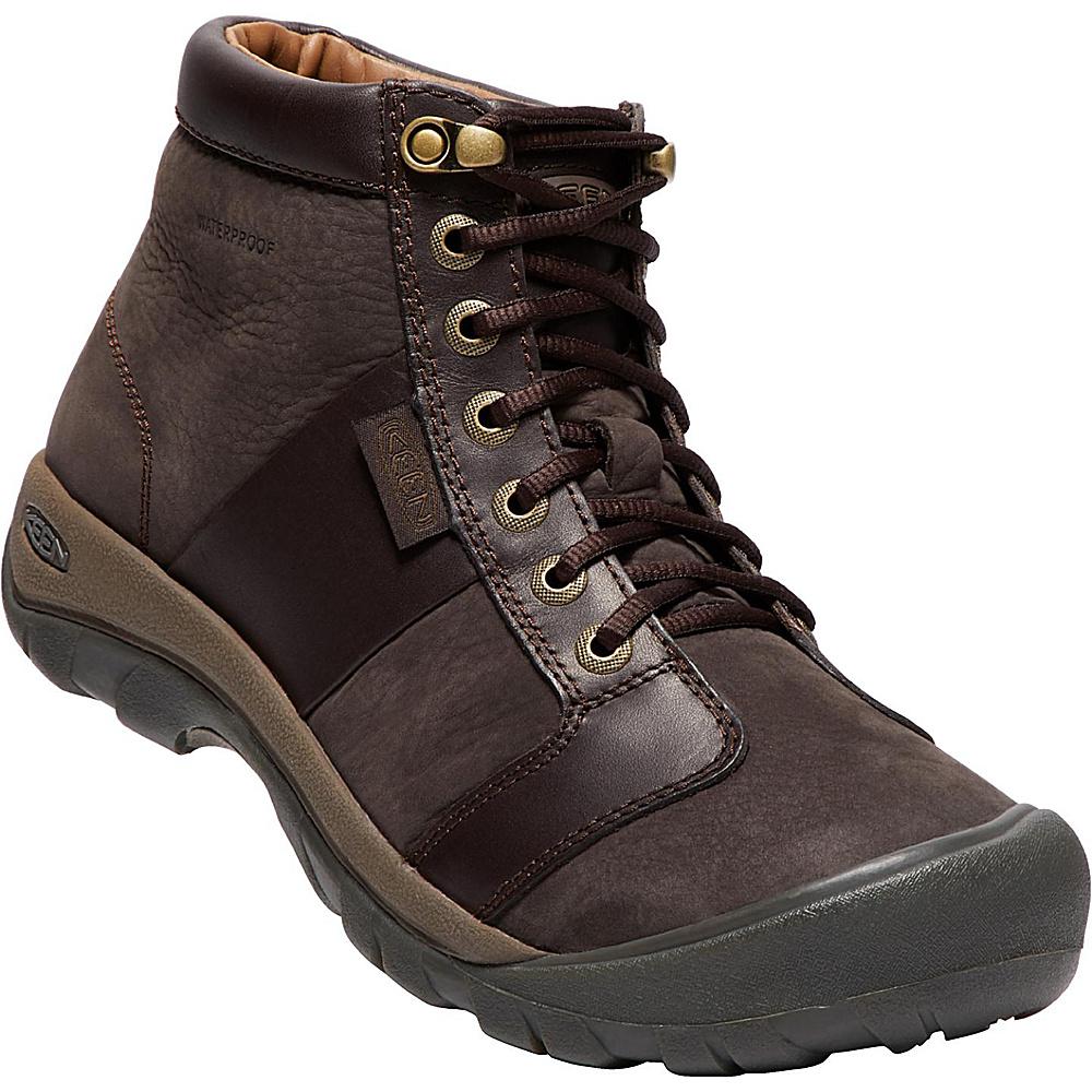 KEEN Mens Austin Mid Waterproof Boot 13 - Eiffel - KEEN Men's Footwear -  1017412-200-13