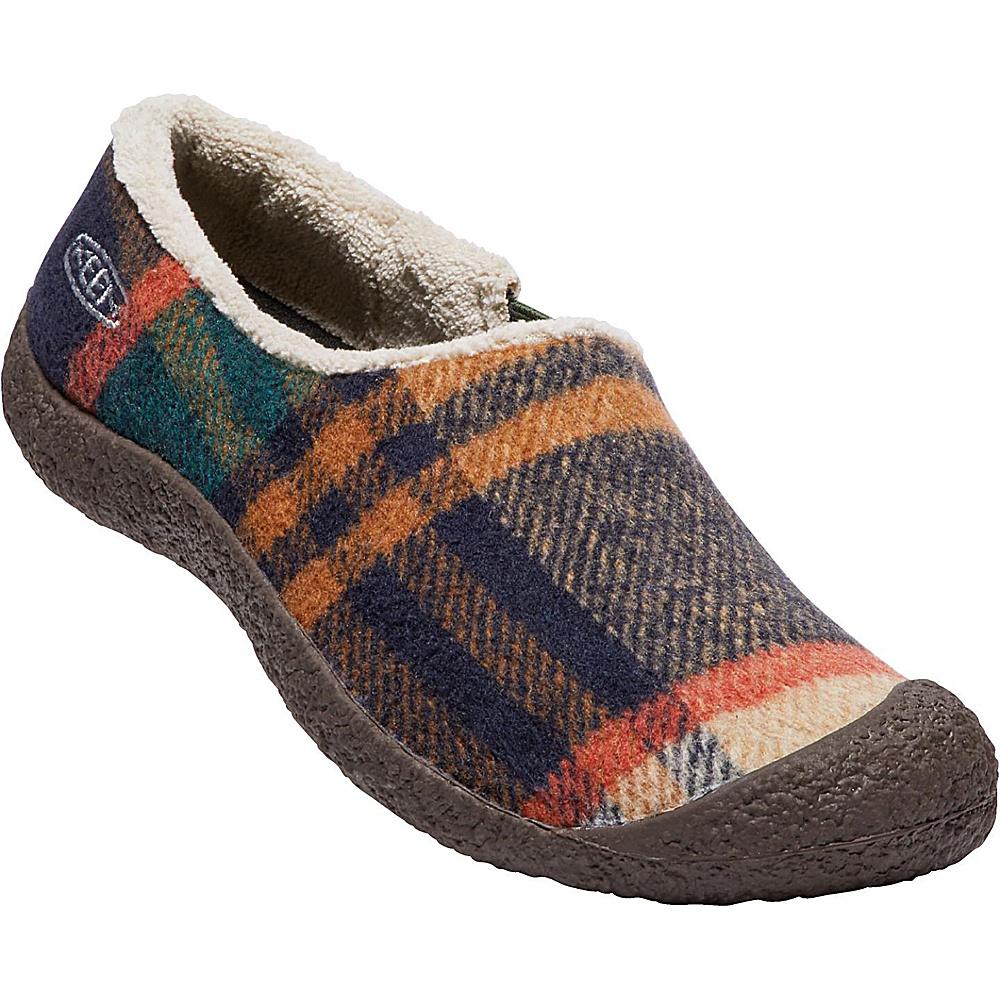 KEEN Womens Howser Slide Wool Slip-On 7.5 - Forest Night - KEEN Womens Footwear - Apparel & Footwear, Women's Footwear