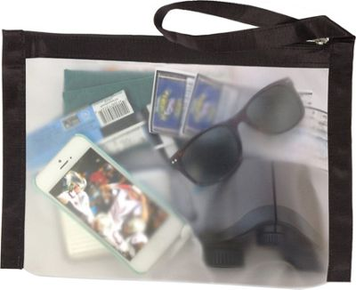 Flanabags ClearPack Gallon Size Travel Bag Black Nylon - Flanabags Packing Aids