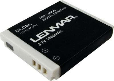 Lenmar Replacement Battery For Canon NB-6L White - Lenmar Portable Batteries & Chargers