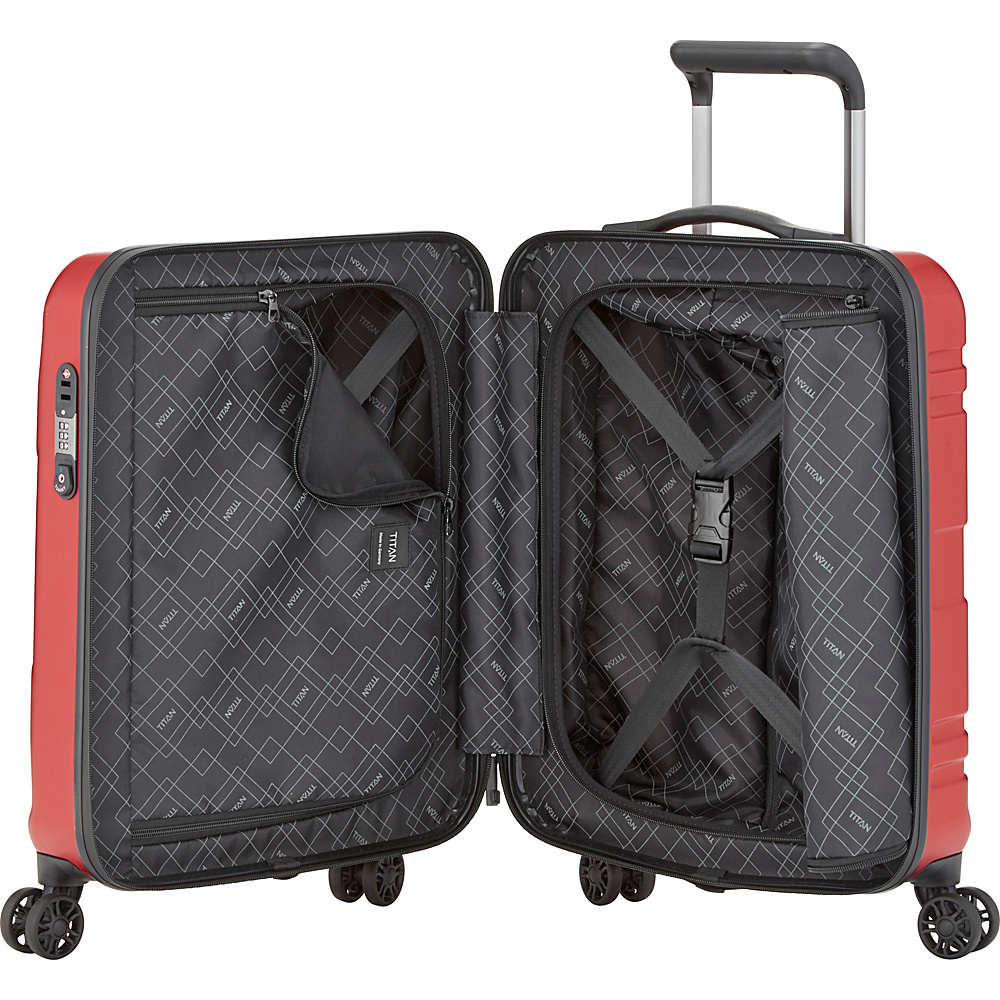 "Titan Bags Prior Senolite 21.5"" Hardside Carry-On Large ..."