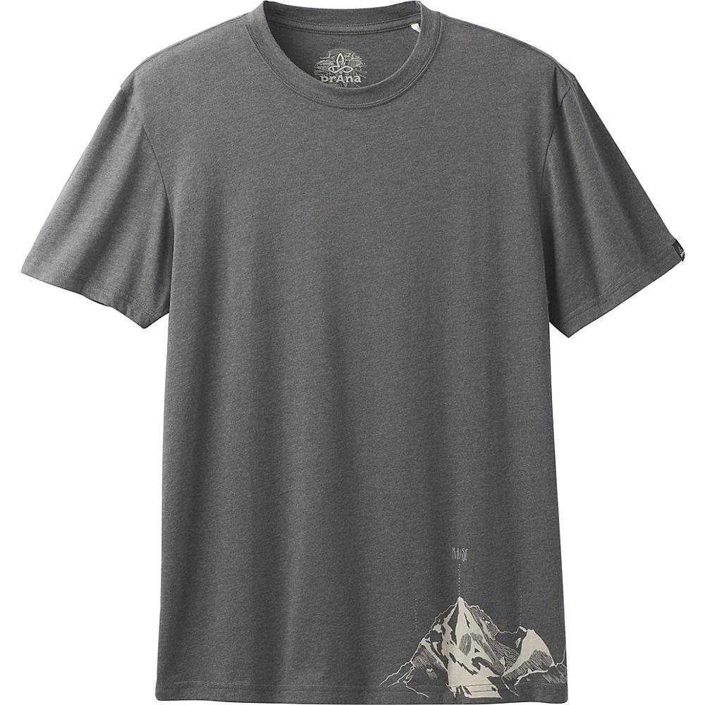 PrAna Equator T-Shirt L - Charcoal - PrAna Mens Apparel - Apparel & Footwear, Men's Apparel