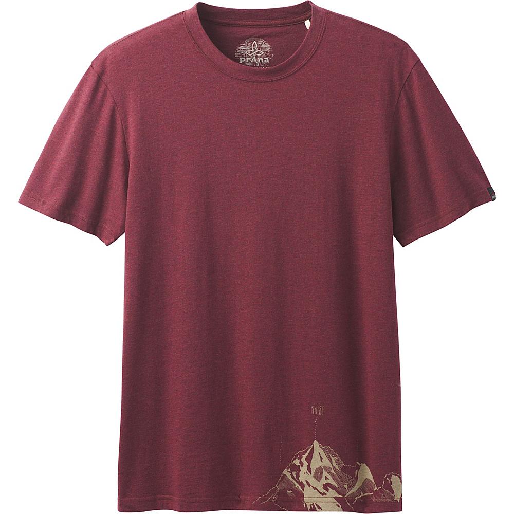 PrAna Equator T-Shirt M - Raisin - PrAna Mens Apparel - Apparel & Footwear, Men's Apparel