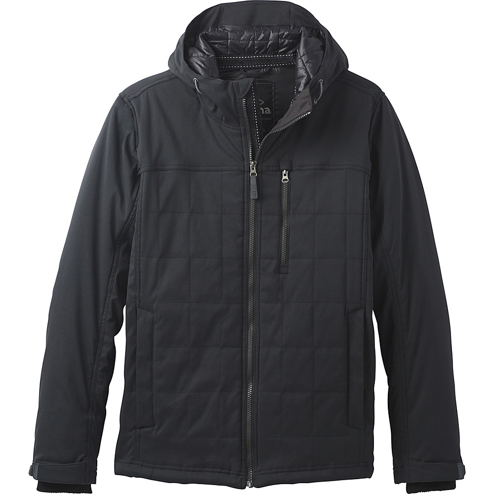 PrAna Zion Quilted Jacket S - Black - PrAna Mens Apparel - Apparel & Footwear, Men's Apparel