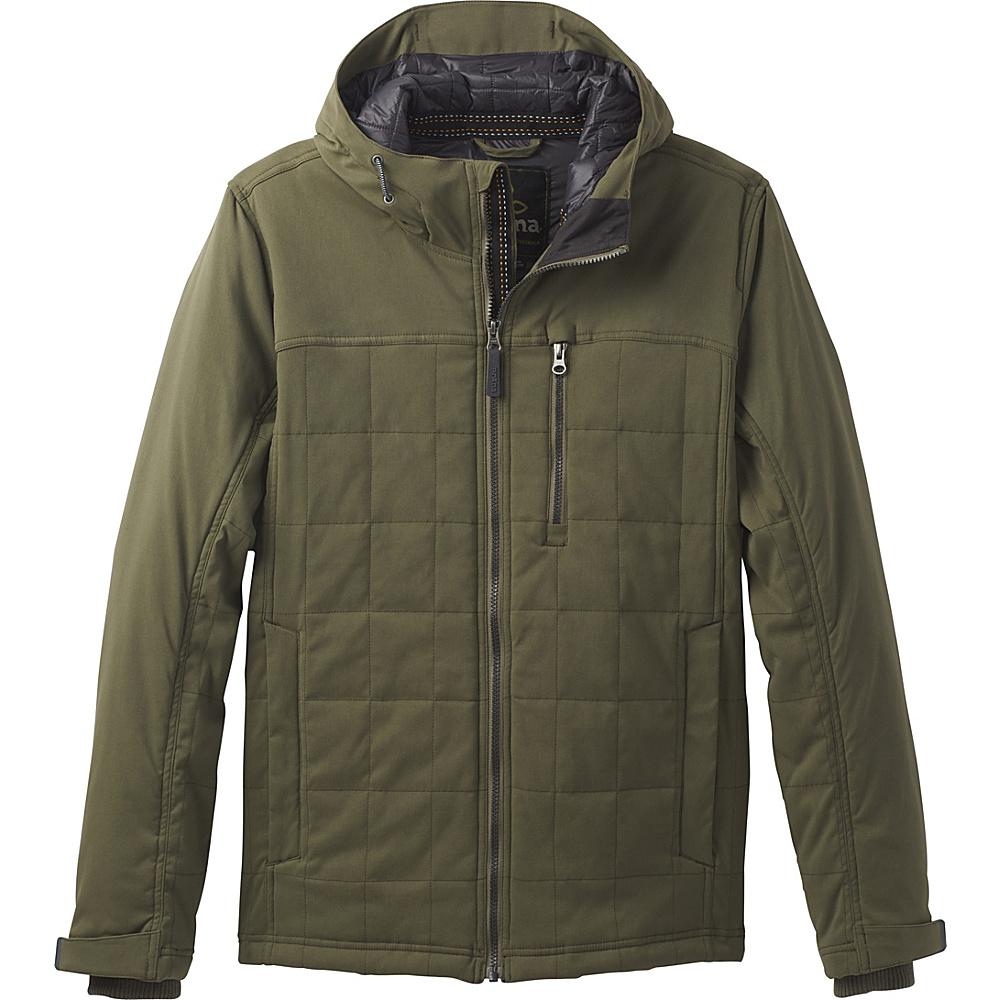 PrAna Zion Quilted Jacket XXL - Cargo Green - PrAna Mens Apparel - Apparel & Footwear, Men's Apparel