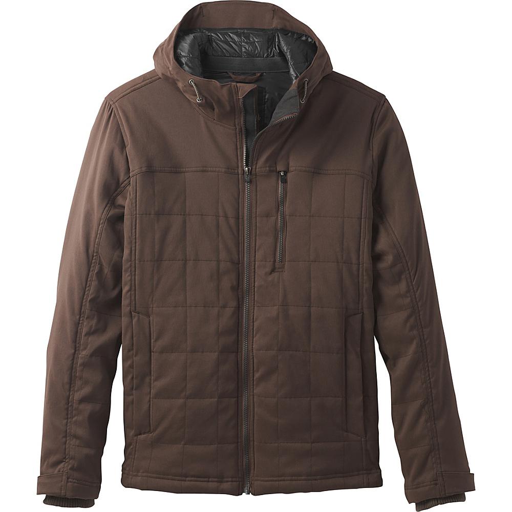 PrAna Zion Quilted Jacket M - Coffee Bean - PrAna Mens Apparel - Apparel & Footwear, Men's Apparel