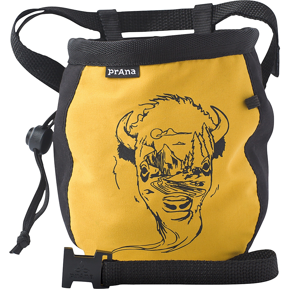 PrAna Graphic Chalk Bag with Belt Golden Barrel - PrAna Sports Accessories - Sports, Sports Accessories