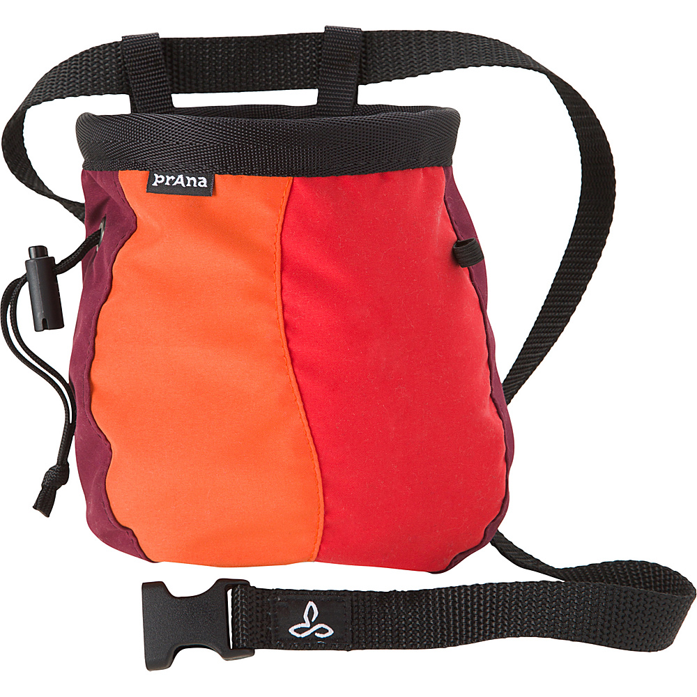 PrAna Chalk Bag with Belt Tangerine - PrAna Sports Accessories - Sports, Sports Accessories