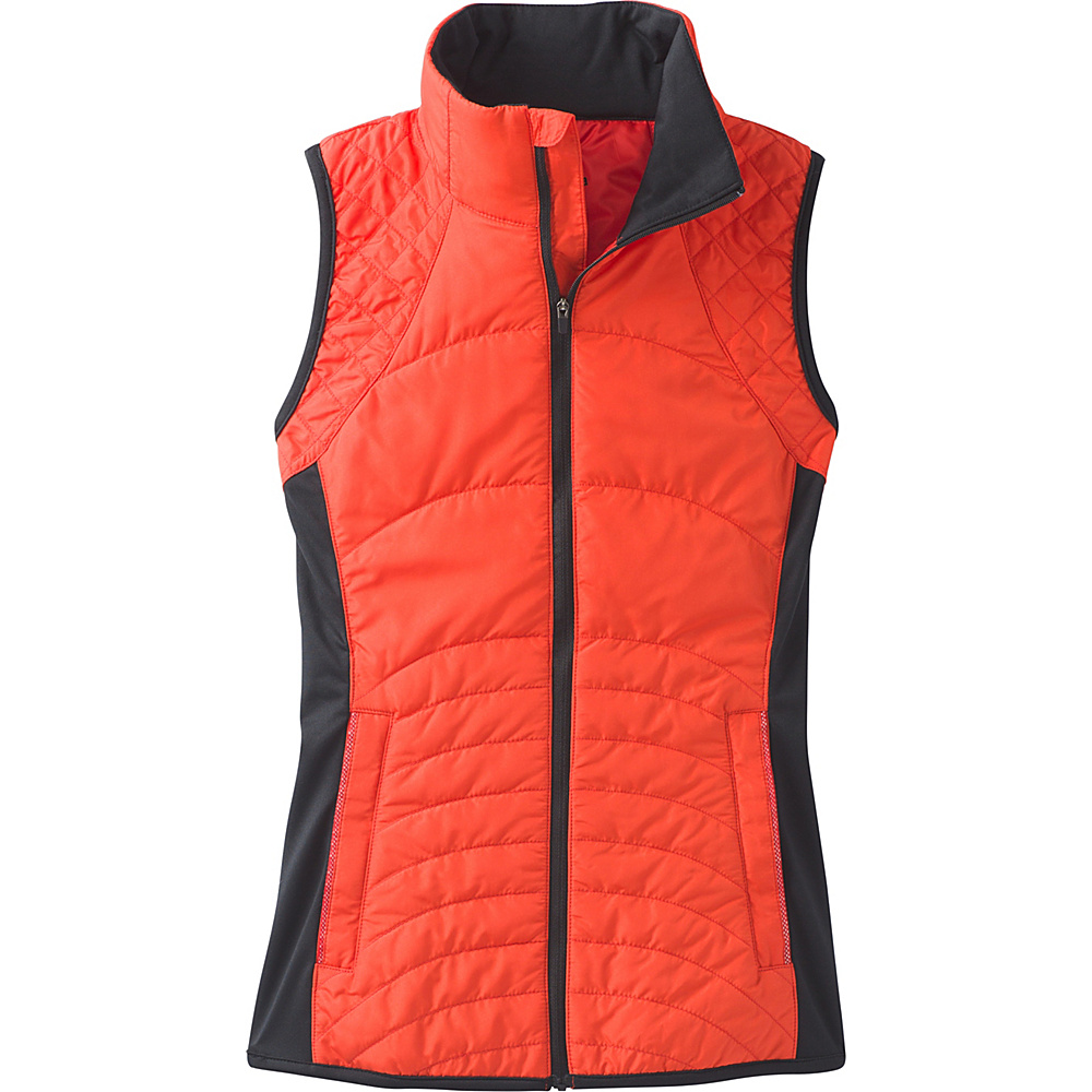 PrAna Momentum Vest L - Fiery Red - PrAna Womens Apparel - Apparel & Footwear, Women's Apparel