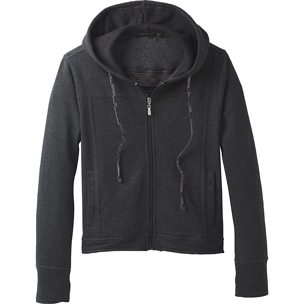 PrAna Ari Zip Up Fleece M - Black - PrAna Womens Apparel - Apparel & Footwear, Women's Apparel