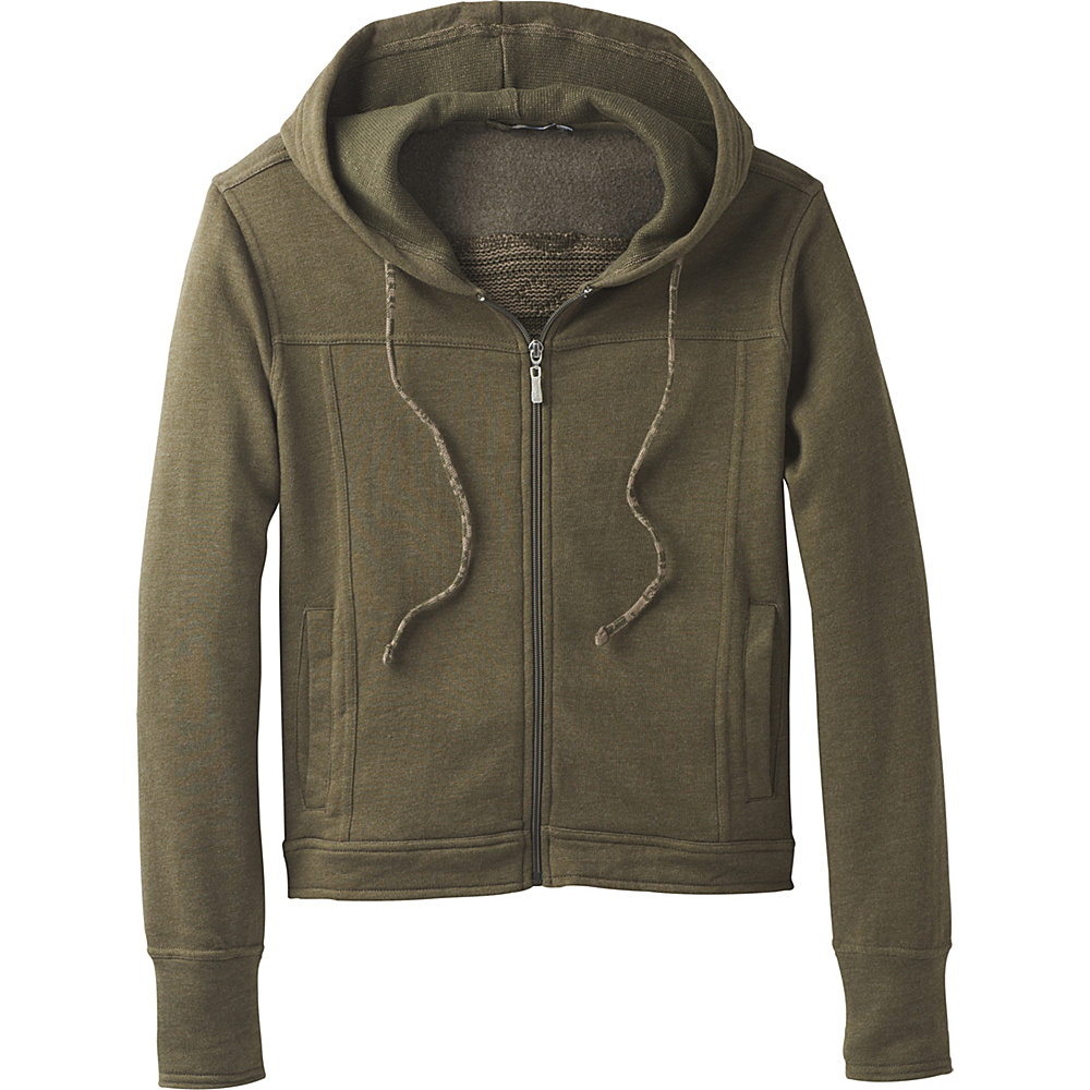 PrAna Ari Zip Up Fleece M - Cargo Green - PrAna Womens Apparel - Apparel & Footwear, Women's Apparel