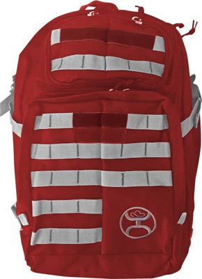 Hooey Large Military Laptop Backpack Red - Hooey Tactical