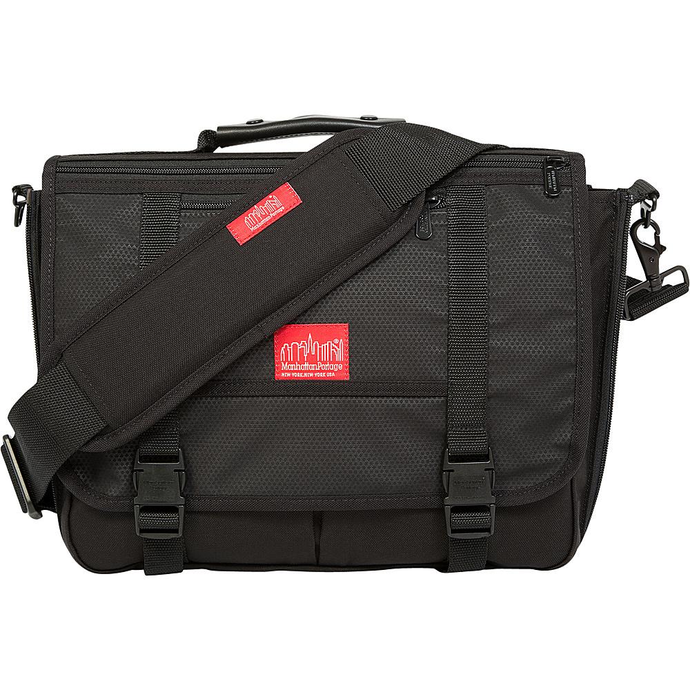 Manhattan Portage Reflective Wallstreeter Small Black - Manhattan Portage Designer Handbags - Handbags, Designer Handbags