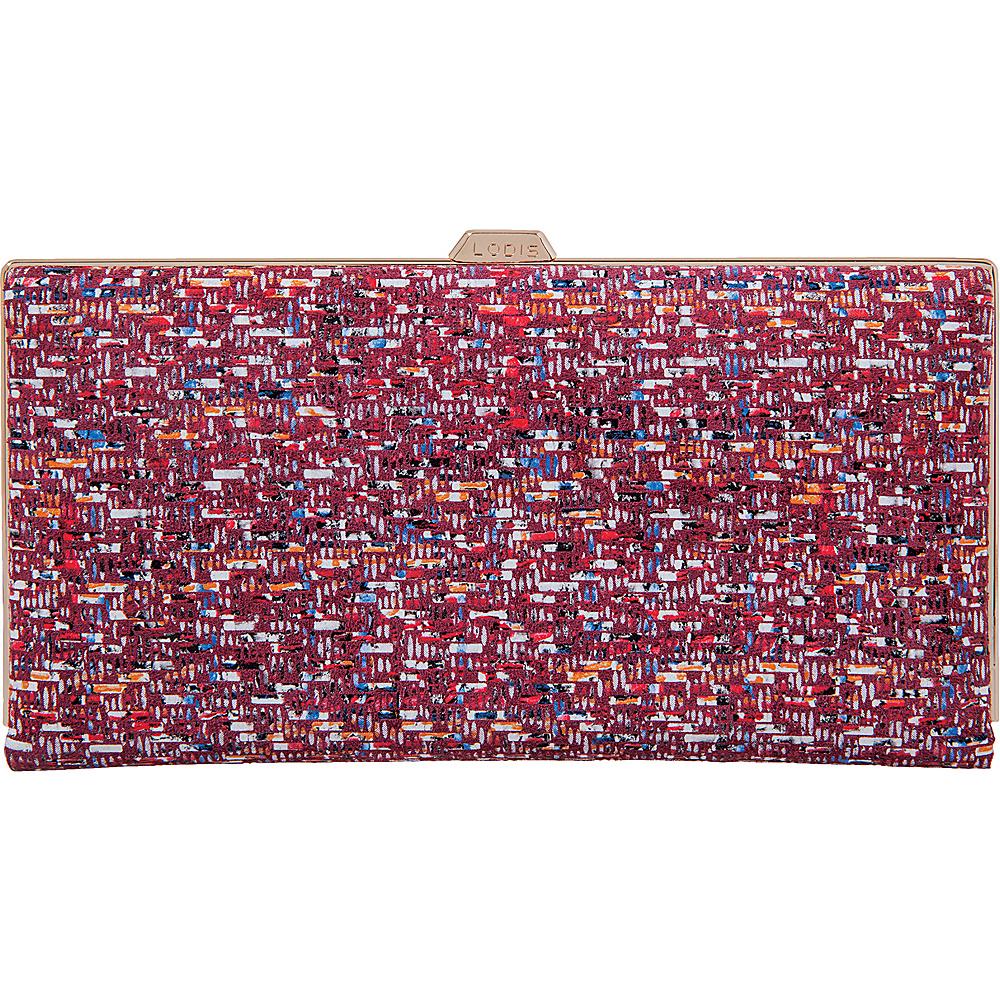 Lodis Tweetable Tweed RFID Quinn Clutch Wallet Brick - Lodis Womens Wallets - Women's SLG, Women's Wallets