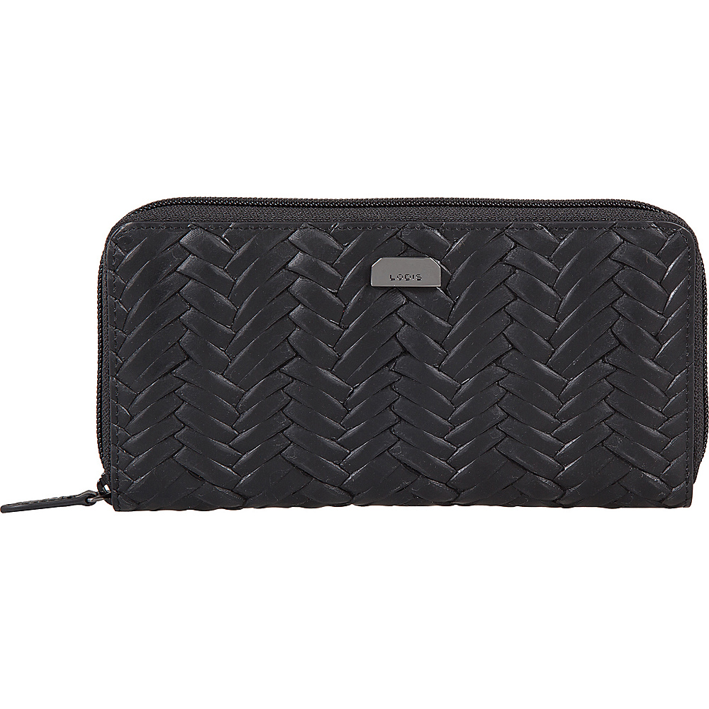 Lodis Nova RFID Ada Zip Wallet Black - Lodis Womens Wallets - Women's SLG, Women's Wallets