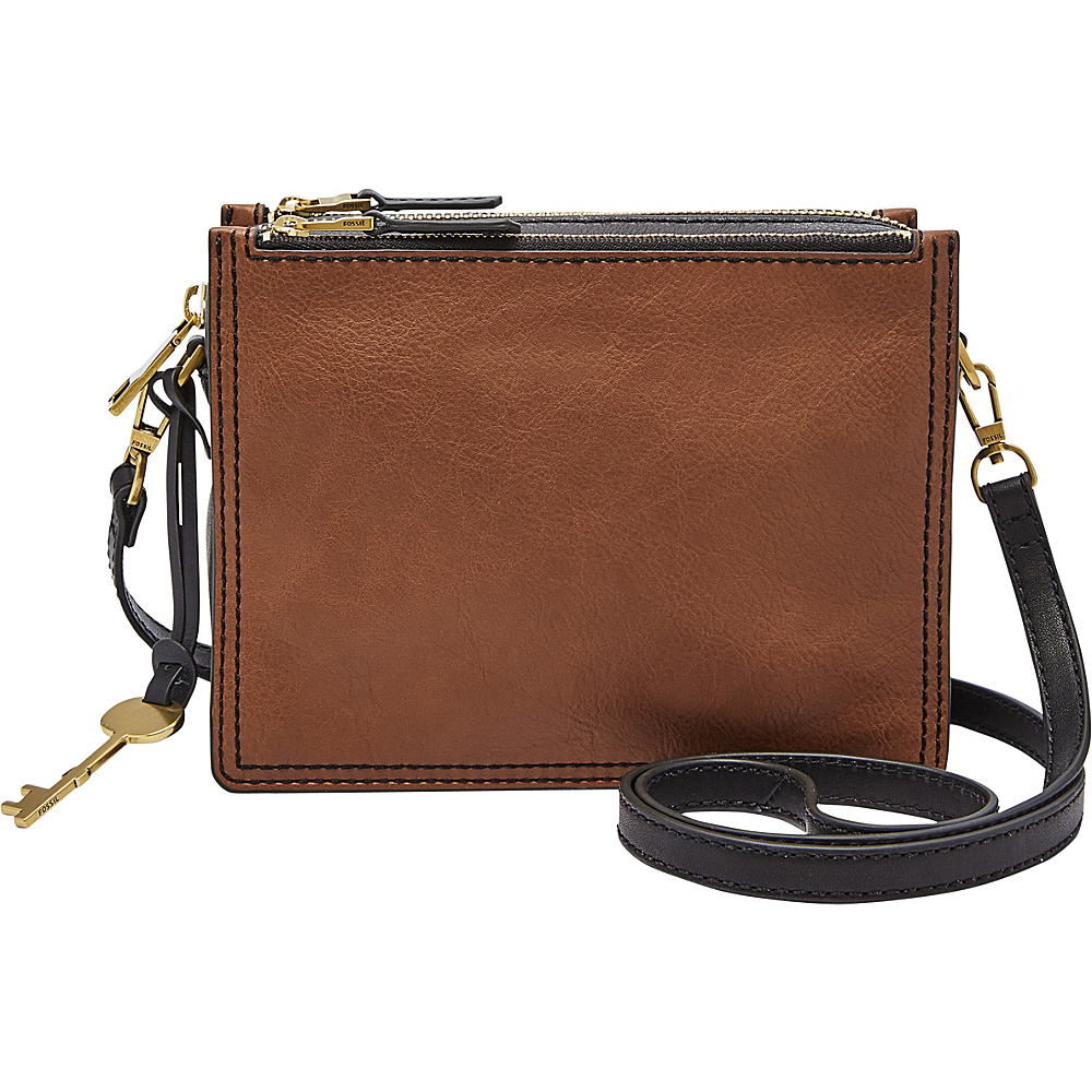 Fossil Campbell Crossbody Brown - Fossil Leather Handbags - Handbags, Leather Handbags